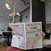 Les journalistes du Canard Enchaîné devant les enquêteurs
