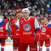 Poutine sacré «meilleur hockeyeur de Russie»