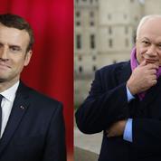 Éric-Emmanuel Schmitt demande à Macron d'être «un président littéraire»