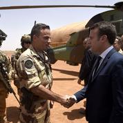 Mali[ma-li] Théâtre d'opération extérieure pour Emmanuel Macron