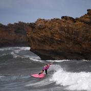 La pause photo du jour sur les vagues des Championnats du monde de surf