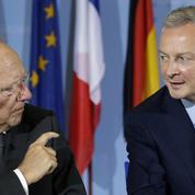 Bruno Le Maire et Wolfgang Schäuble veulent accélérer sur la convergence fiscale