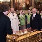 Moscou vénère une relique de saint Nicolas