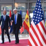Trump rencontre les dirigeants de l'Union européenne