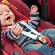 Sécurité routière : 48 % des sièges enfants mal installés ou mal utilisés