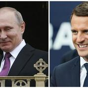 Poutine en France: quand Macron accueille la bête noire des Femen et de Greenpeace