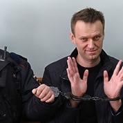 L'opposant russe Alexeï Navalny arrêté avant une manifestation anti-corruption