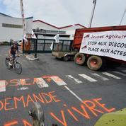 Les producteurs de lait lèvent le blocage dans l'Ouest
