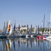 Solitaire Urgo Le Figaro: Marée bleue à Concarneau