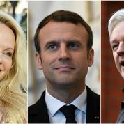 Pamela Anderson veut demander l'asile de Julian Assange à Emmanuel Macron