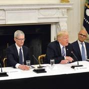 Trump renoue avec la Silicon Valley sur fond de tensions