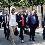 Marine Le Pen et les députés FN font leur rentrée à l'Assemblée