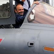 Au Bourget, Philippe confirme une hausse du budget de la Défense