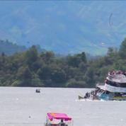 En Colombie, le naufrage d'un bateau fait au moins sept morts et treize disparus