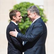 Petro Porochenko: «J'aime beaucoup le style Macron»