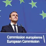 Emmanuel Macron se rêve-t-il président de l'Europe ?