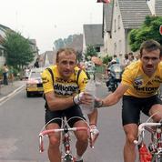 Tour de France 1987 : le polonais Piasecki maillot jaune à Berlin-Ouest