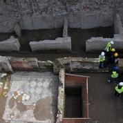 Un nouveau Pompei découvert sur le chantier du nouveau métro à Rome