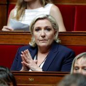 Marine Le Pen démet deux cadres frontistes pour calmer les rivalités