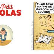 Le Petit Nicolas : avant les livres... La bande dessinée