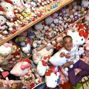 Un ex-policier japonais détient la plus vaste collection d'objets Hello Kitty