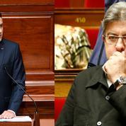 Congrès : passe d'armes entre Macron et Mélenchon