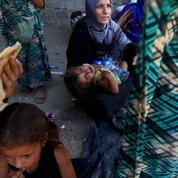 Dans le camp d'Aïn Issa, avec les rescapés de la terreur djihadiste qui ont fui Raqqa