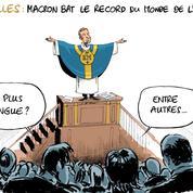 Le dessin d'Ixène sur le discours d'Emmanuel Macron à Versailles
