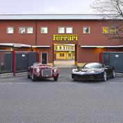 Une vente Ferrari à Maranello