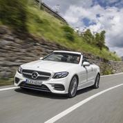 Mercedes Classe E Cabriolet, 4 places au soleil