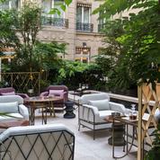 L'hôtel Crillon revégétalisé par Louis Benech
