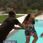 Paul Pogba jette une journaliste d'ESPN à l'eau