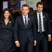 Emmanuel Macron lie l'obtention des Jeux olympiques à son projet politique