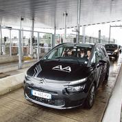 Vinci et Sanef dressent la voiture autonome à passer les barrières de péage autoroutier