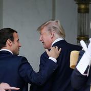 À Paris, Emmanuel Macron accueille Donald Trump avec chaleur