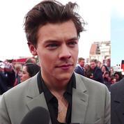 Harry Styles et Christopher Nolan sur le tapis rouge de Dunkerque