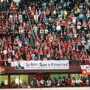 Les stades russes gagnés par la fièvre nationaliste