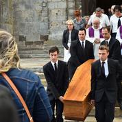 Les obsèques du juge Lambert hantées par l'affaire Grégory