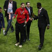Ibrahimovic, gravement blessé, met en scène son retour sur les terrains
