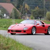 Ferrari F40, 30 ans déjà !