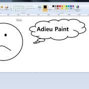 Microsoft abandonne son logiciel Paint