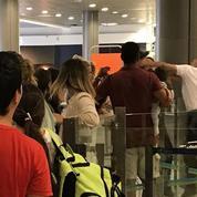 Nice : un passager avec un bébé reçoit un coup de poing d'un employé de l'aéroport