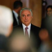 Brésil: le sort du président Temer entre les mains des députés