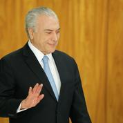 Brésil : Michel Temer échappe à un procès pour corruption