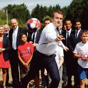 Quand Macron loue le sens de l'effort auprès des enfants