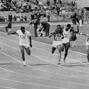 20 juin 1968 : 3 athlètes américains courent le 100m en moins de 10 secondes