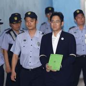 L'héritier de Samsung risque douze ans de prison