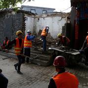 Pékin «nettoie» les ruelles commerçantes de ses vieux quartiers