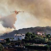 Haute-Corse : un suspect mis en examen et écroué, deux incendies en cours