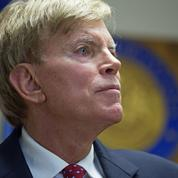 David Duke, l'ex-leader du Ku Klux Klan qui soutient Donald Trump
